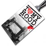 I Love my Hood Tag